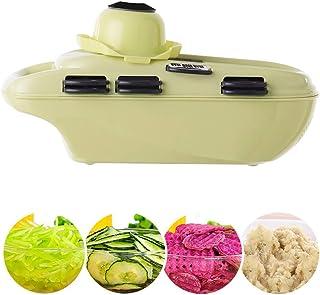 Trancheuse Mandoline coupe-légumes Veggie Dicer 7 Dans Un Multi-fonction Mandoline Slicer Légumes Râpe Hachoir Avec Le Sto...
