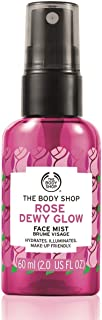 The Body Shop Rose Dewy Glow Face Mist, 2 Fl Oz (Vegan)