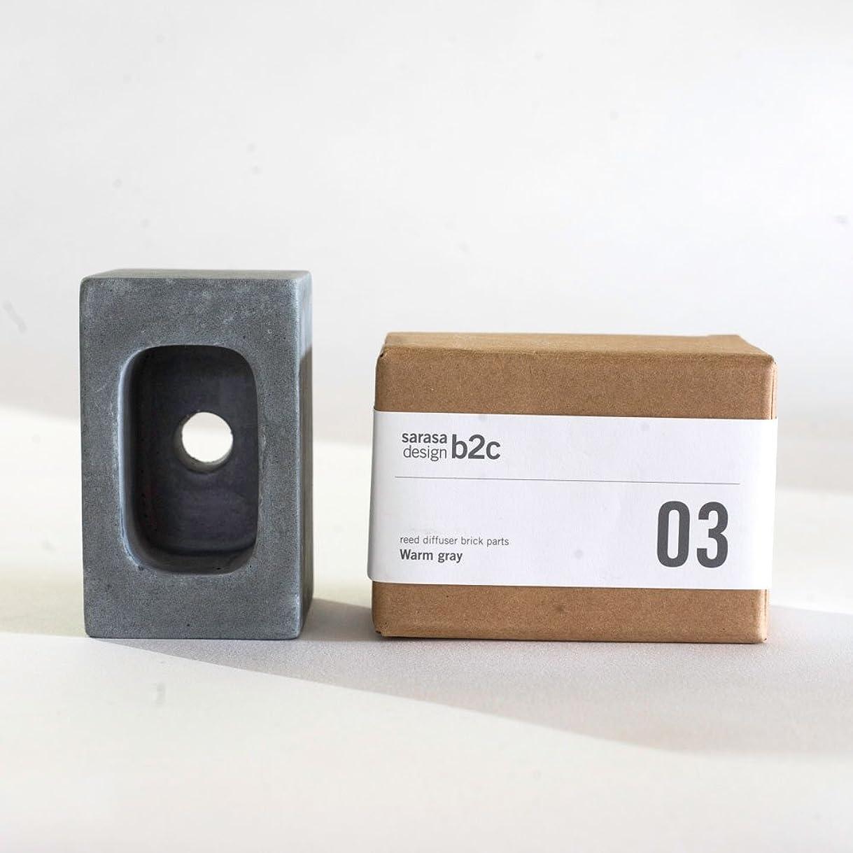 支配的供給テメリティar003cgy/パーツ販売?b2c ブリック用 コンクリートパーツ(スクエア)《チャコールグレー》| 芳香剤 ルームフレグランス リードディフューザー アロマ ディフューザー