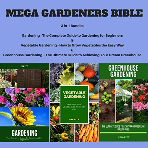 Mega Gardeners Bible audiobook cover art