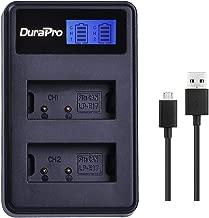 DuraPro Rapid LP-E17 LCD Dual USB Battery Charger for Canon EOS 750D 760D 8000D Kiss X8i Rebel T6i T6s Digital SLR Cameras