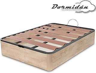 Dormidán - Canapé abatible Oferta, Gran Capacidad Esquinas Redondeada, Tapa somier con Lamas vaporizadas