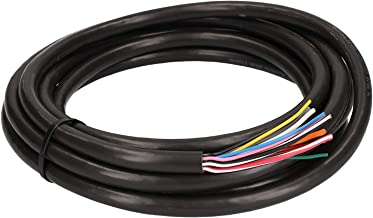 5 meter / 16.4ft/196.8 inches of 12 Core Wire/Cable 5m Coil for Trailers and Caravan Tow Bar Automotive Grade (CW-12)