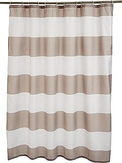 AmazonBasics - Cortina de ducha de tejido estampado (180 x