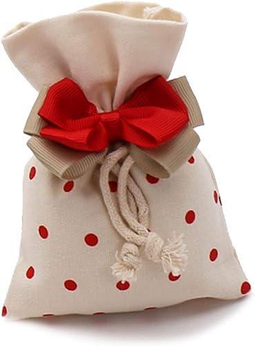 VialeMagico Nachfüllpackungen für Bonboniere mit Pois rot für Konfetti Kit 24 Stück