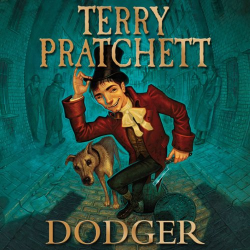Dodger audiobook cover art
