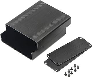JIUWU Surface Drawing Split Aluminum Enclosure Project Box Electronic Enclosure Case for PCB Board DIY, 88x38x100mm (WHL),...