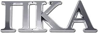 PIKE Pi Kappa Alpha Fraternity Chrome Auto Emblem