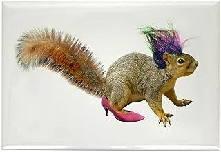 CafePress Dress-up Squirrel Rectangle Magnet Rectangle Magnet, 2