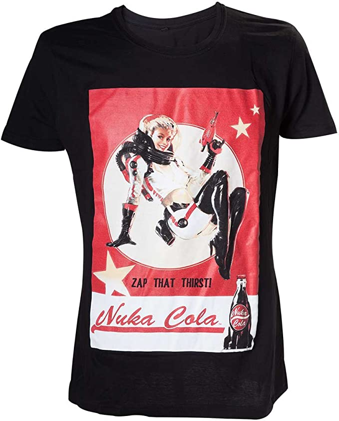 Fallout Nuka Cola Lady Camiseta para Hombre