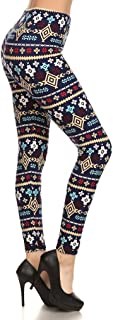 Premium Ultra Soft Leggings for Women - One Size (0-12) - Full and Capri Length - Printed and Solids