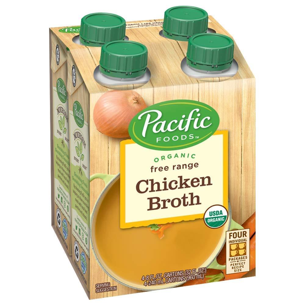 Pacific Kansas City Mall Foods 40% OFF Cheap Sale Organic Free Range Chicken 8-Ounce Broth Cartons