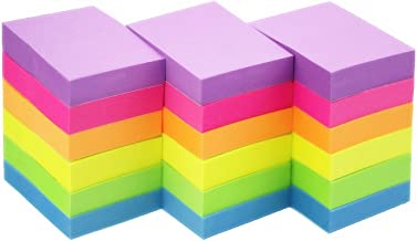in una custodia in similpelle con involucro aperto 3 formati Megabox Fogliettini autoadesivi per appunti 2000 fogli in 11 colori