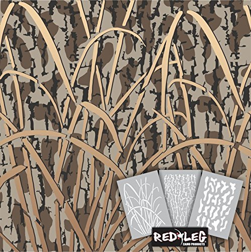 Redleg Camo HD9 3 Piece Camouflage Stencil kit