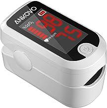 Pulse Oximeter Fingertip, Blood Oxygen Saturation Monitor Fingertip, Fast SpO2 Reading Oxygen Meter, Finger Pulse Ox Monitor