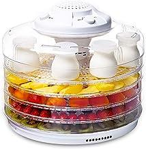 Déshydrateur de Température Réglable, Légumes, Viande, Séchoir à Fruits, 5 Plateaux, Faible Consommation D'énergie, Facile...