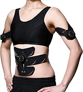 RIZAP ライザップ EMS 腹筋ベルト [3D Shaper] ベーシックセット (3D Core ×1 3D Spot ×2) 腹筋 振動 腕用 足 ベルト 筋トレ 腕痩せ 二の腕痩せ 脚痩せ 足痩せ ダイエット