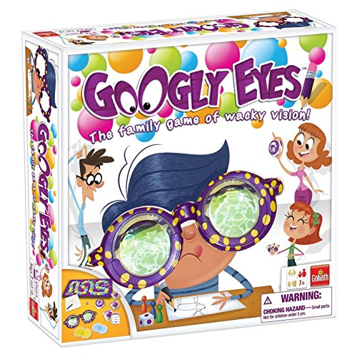 Googly Eyes Game - Family Drawing Game with Crazy Vision-Altering Glasses .HN#GG_634T6344 G134548TY58847