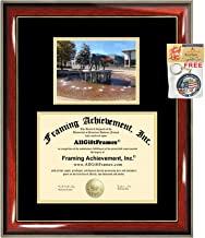 Old Dominion University Diploma Frame ODU Graduation Gift Degree Framing Certificate ODU College Document Holder Case Double Bachelor Master PhD Doctorate Plaque
