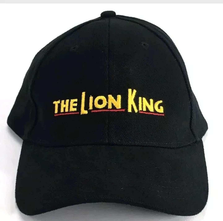 The Lion King Disney Officially Licensed Black Fit: Adult -Adjustable Hat