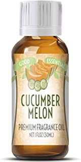Cucumber Melon Scented Oil by Good Essential (Huge 1oz Bottle - Premium Grade Fragrance Oil) - Perfect for Aromatherapy, Soaps, Candles, Slime, Lotions, and More!