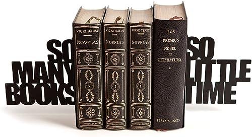 Balvi/-/Bond/sujetalibros/Decorativo/de/Metal/en/Color/Negro./Dise/ño/Original