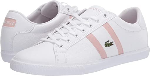 White/Light Pink