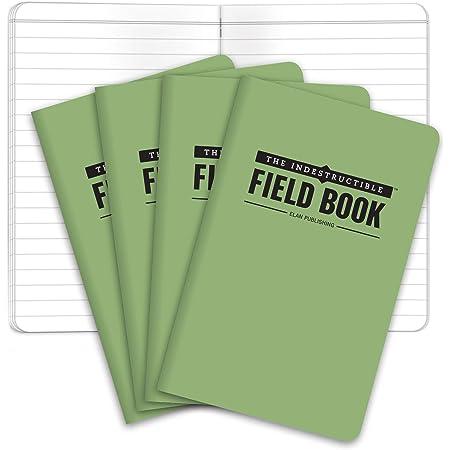 UST 50 Page Waterproof Tear Proof Notebook 3x5