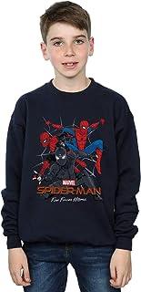 Marvel Niños Spider-Man Far from Home Multi Costume Camisa De Entrenamiento