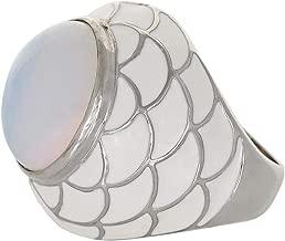 Venus Accessories Women's Rhodium Plated Ring - 7 US