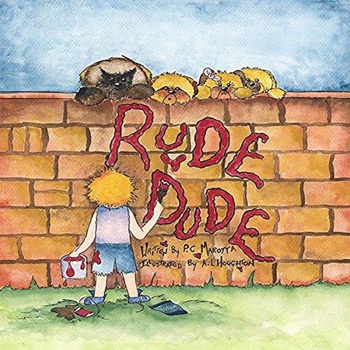Rude Dude! audiobook cover art