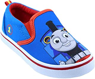 Toddler Boys Thomas The Train 61238 Canvas Shoes (6 M US Toddler) Blue and Red
