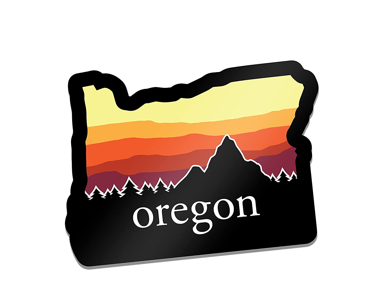 Bombing new work Oregon Native Decal Same day shipping Northwest Pacific