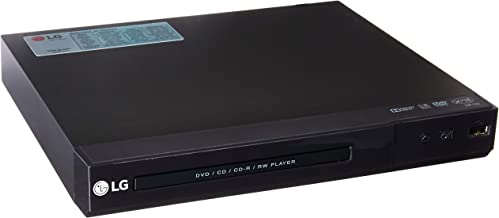 LG DP132 Region Free DVD Player with USB Input - Plays PAL/NTSC DVDs from Europe, Asia, Africa, Australia, South America
