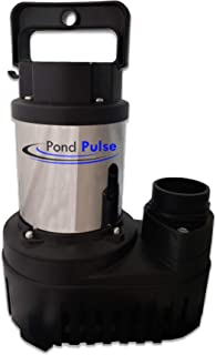 HALF OFF PONDS Pond Pulse 4,200 GPH Hybrid Drive Submersible Pump Up to 4,200 GPH Max Flow