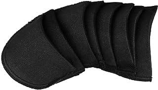 iiniim 1 par Almohadillas Hombro Pads Cojines Push-up Adhesivo de Silicona de Hombros Hombreras Invisible Color Carne Negro