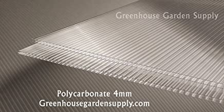POLICARB Polycarbonate Greenhouse Cover 4mm - Clear 24