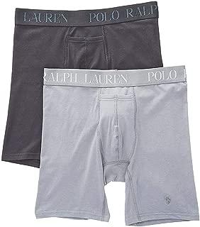 Polo Ralph Lauren Cotton Modal Stretch Long Leg Boxer Brief - 2 Pack (LKLBP2)