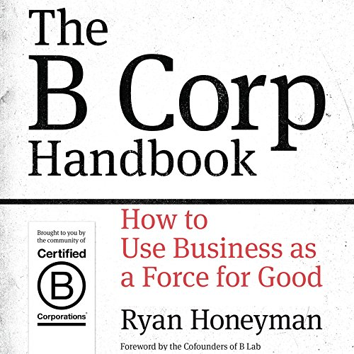 The B Corp Handbook audiobook cover art