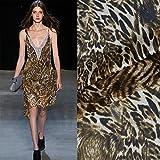 New Fashion American Style Sexy Braun Leopard Print 100%