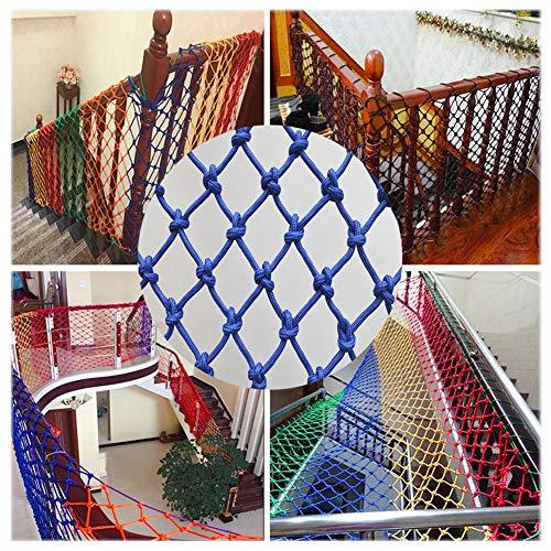 WANIAN Seguridad Niños Escalada Red Decorativa De para Escalera De De Riel-Piscina De -Protección para Cubierta De Carga Net-Cat Net Interior Malla Protectora Balcon Exterior (Size : 3 * 6M)