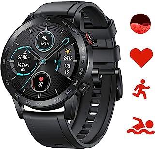 HONOR Magic Watch 2 46 mm Smart Watch, fitnessactiviteitstracker, hartslagfrequentie, SpO2-monitor, 14 dagen stand-by, ing...