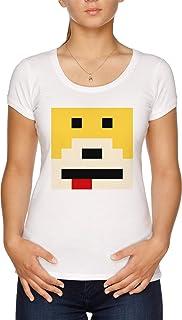 Señor Oizo - Plano Eric - Mojado Camiseta Mujer Blanco