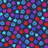 GRAPHICS & MORE Dungeon Dice Pattern for Fighting Dragons Premium Roll Gift Wrap Wrapping Paper