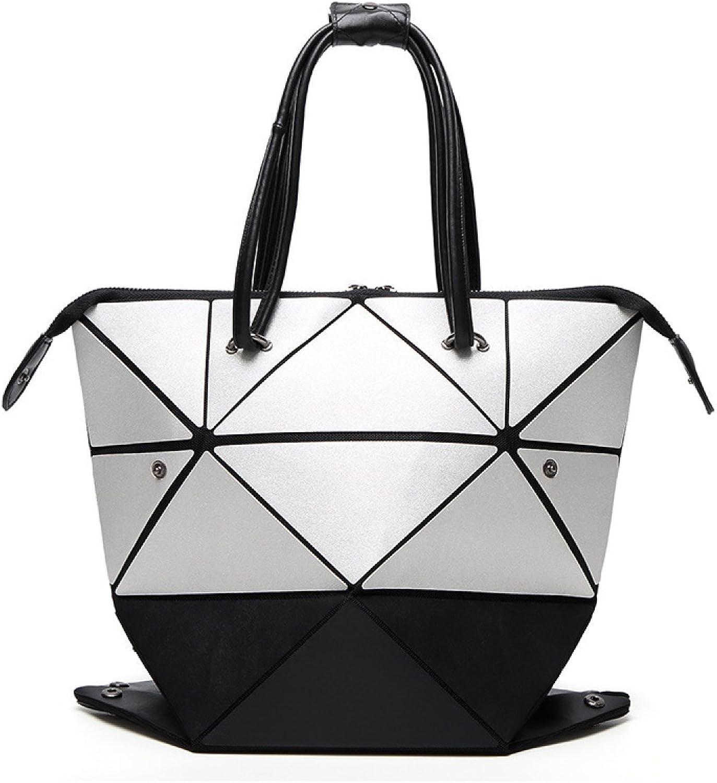 Frauen Geometrische Falttasche Falttasche Falttasche Mode Umhängetasche,Style2 B0784QJCC4  Zu einem erschwinglichen Preis 96c58e