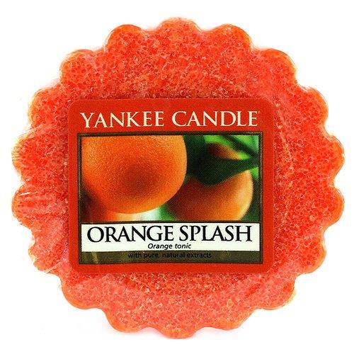 YANKEE CANDLE Bougie parfumée Orange Splash Tartelettes en Cire