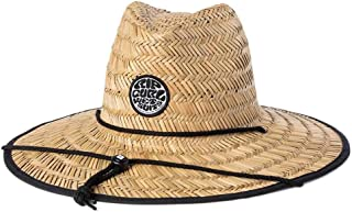 Rip Curl Boys' Wetty Straw Hat, Black, One size