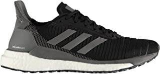 Official Brand Adidas Solar Glide Womens Running Shoes Trainers Black/Grey Athleisure Sneakers