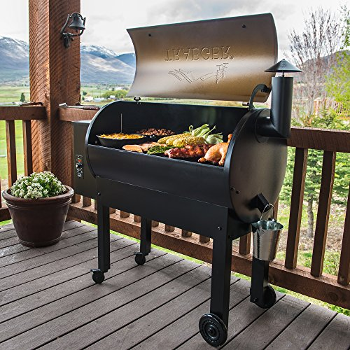 Traeger Grills TFB65LZBC Texas Elite 34 Wood Pellet Grill & Smoker, 646 Sq. In. Cooking Capacity, Bronze,Black and Bronze