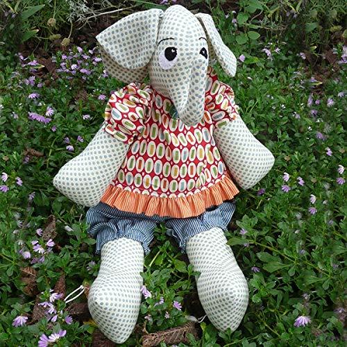 Melly & Me Schnittmuster Ellie der Elefant